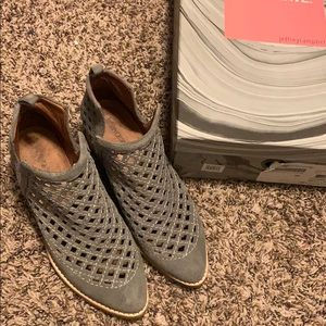 Jeffrey Campbell Taggart Booties (Gray)